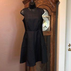 Halogen fit n flare dress w pockets 4